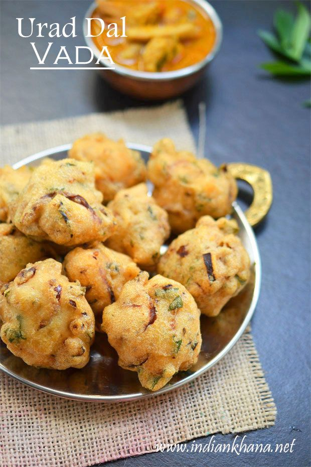 Urad Dal Vada or Bada or Medhu Vada is popular South Indian snack made during festival like Pongal, Diwali, New Year and also makes great tea time snack.