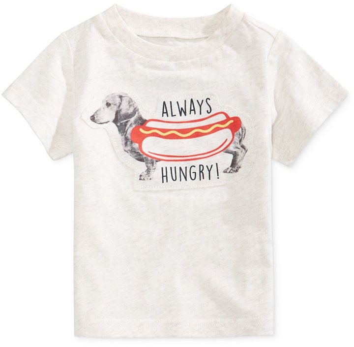 First Impressions Cotton Graphic-Print T-Shirt, Baby Boys (0-24 Months), Created for Macy's