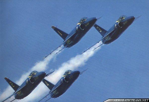 Blue Angels F11F Tiger