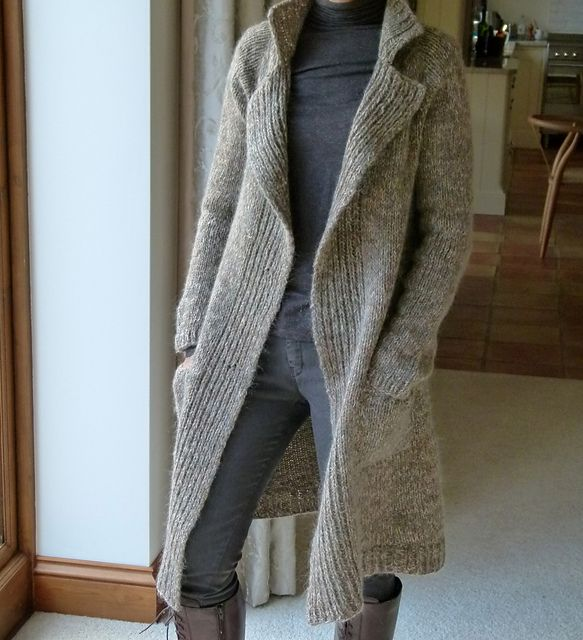 Ravelry Project Gallery For Einstein Coat Pattern By