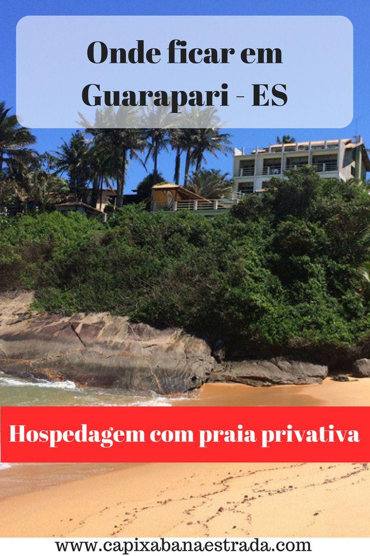 A cidade de Guarapari no Espírito Santo conta com mais de 50 praias. Saiba dica de onde se hospedar em Guarapari.