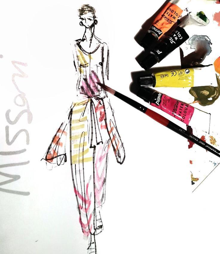 Fashionscissors interpreta Missoni | Missoni