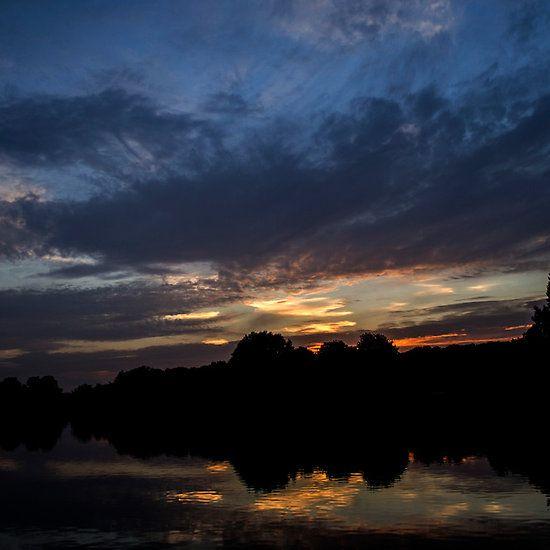 Langold Lake Sunset