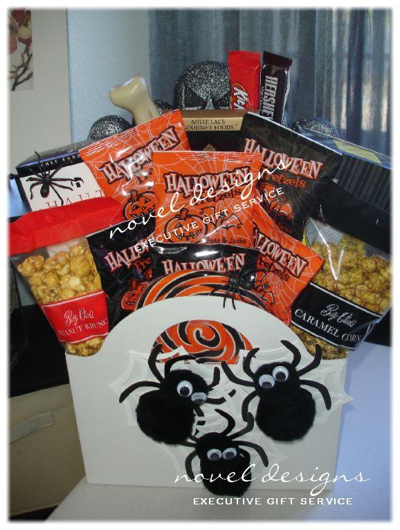 Best 25 halloween gift baskets ideas on pinterest fall gift spooky spider halloween gift basket lasvegas halloween giftbaskets negle Gallery