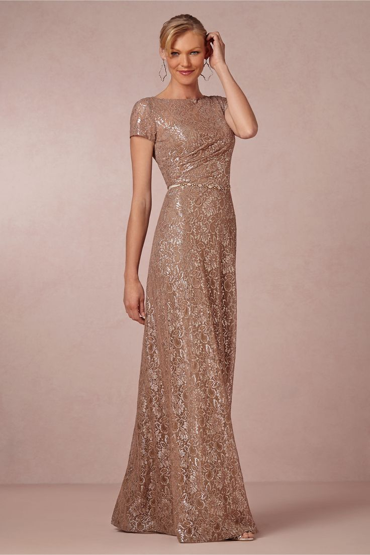 Sterling Lace Dress from BHLDN Le style pour Josie! Je m'en ligne pour une robe longue on dirait! @Josie Camerota
