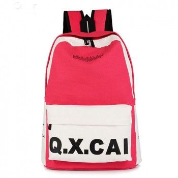 Fashion Simple Canvas Backpack  School Bag for only $24.90 ,cheap Fashion Backpacks - Fashion Bags online shopping,The Fashion Simple Canvas Backpack is very popular in the college.