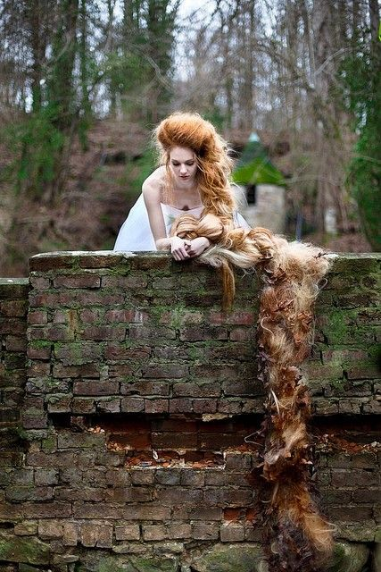 'Aha!' she cried mockingly, 'you would fetch your dearest, but the beautiful bird sits no longer singing in the nest; the cat has got it, and will scratch out your eyes as well. Rapunzel is lost to you; you will never see her again.'