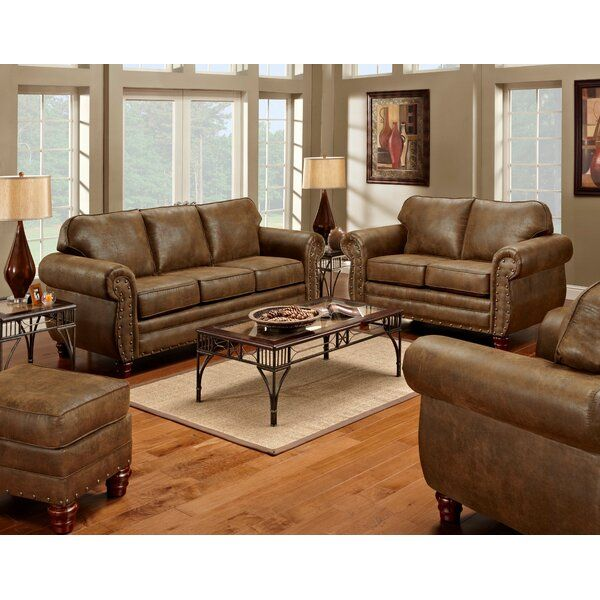 Aticus 4 Piece Living Room Set In 2020 4 Piece Living Room Set Living Room Leather Living Room Sets #rustic #leather #living #room #set