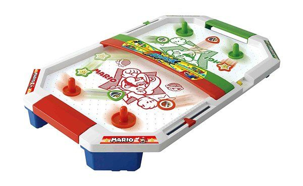 "Epoch releasing two more Mario-themed tabletop games   - Mario hockey tabletop game getting its third redesign - new version features characters to knock down and figures - also releasing ""Super Mario Coin Adventure Game Zakuzaku Coin Challenge"" - features many little coins and a new Mario toy with sound where Mario kicks a Koopa Shell - both games release in Japan on April 15th  Thanks to Nightram for the heads up!  from GoNintendo Video Games"