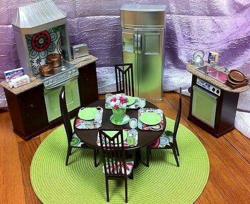 Diy Barbie Kitchen Table
