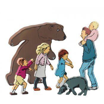 Bear hunt figures
