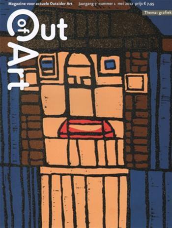 Dit kunstmagazine gaat over actuele Outsider Art in de breedste zin van het woord. In Out of Art wordt Outsider Art opgevat als een onderdeel van de hedendaagse kunst. In elk nummer is aandacht voor een thema en voor rubrieken met artikelen over kunstenaars, verzamelaars, inspirerende plekken, publicaties en tentoonstellingen. De agenda vermeldt actuele evenementen. Wisselende auteurs schrijven columns en op de achterzijde treft u steeds een gedicht aan.