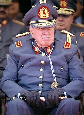 Capitan General Don Augusto Pinochet Ugarte!