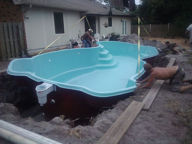 Large Fiberglass Pools Pools For Less Things I Wanna