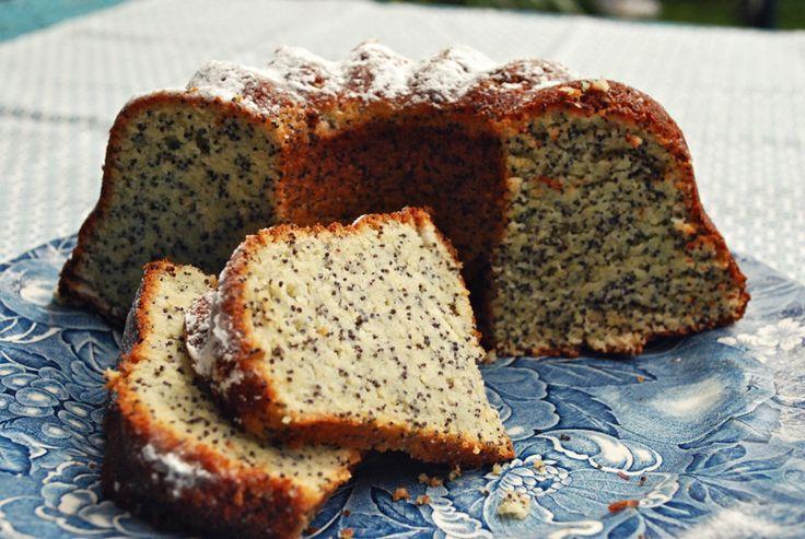 citroen maanzaad cake