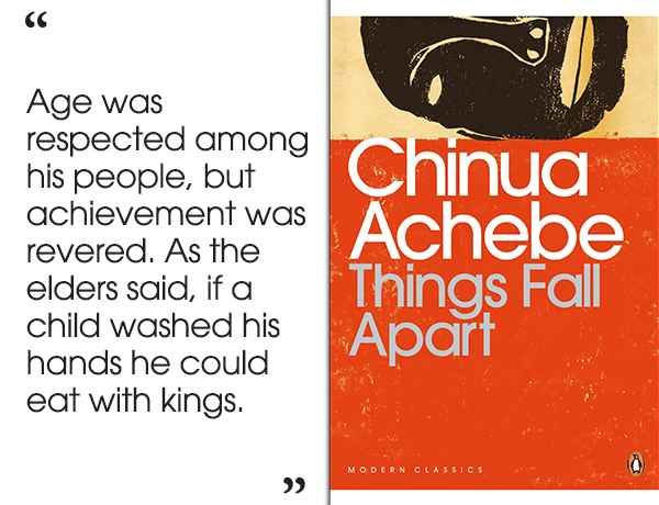 Things Fall Apart by Chinua Achebe | 46 Brilliant Short Novels You Can Read In A Day