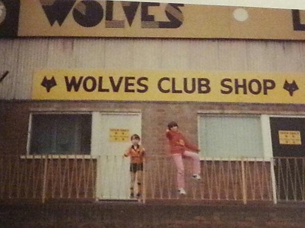 The old North Bank club shop