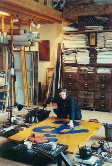 Fabienne Verdier's studio