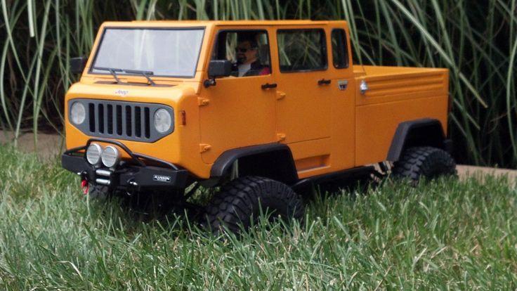 "Rckcrwlr's Jeep Mighty FC ""Trail Walker"" Crew Cab"