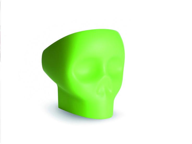 JOLLY ROGER (green) by FABIO NOVEMBRE for Gufram, 2013. www.gufram.it