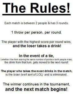 Bra Pong Rules