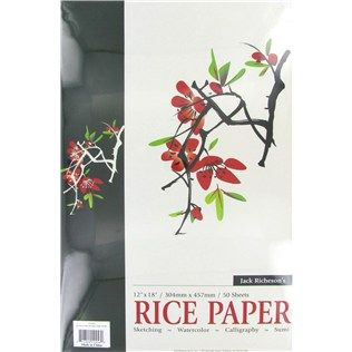 12 X 18 Rice Paper Pad Rice Paper And Lobbies