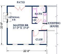 Master Bedroom Floor Plans With Bathroom 133 best home additions images on pinterest | plantation shutter