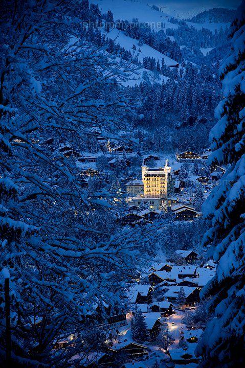 Gstaad Palace,Switzerland.