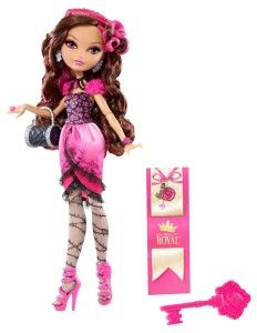 Ever After High Dolls: Briar Beauty Doll Briar Beauty is the daughter of Sleeping Beauty. She's destined to sleep for 100 years before her Happily Ever After, so she makes every moment count and makes every day count. She comes wearing pink dress with dreamy black lace on the bodice and rose-detailed sleeves. http://awsomegadgetsandtoysforgirlsandboys.com/ever-after-high-dolls/ Ever After High Dolls: Briar Beauty Doll