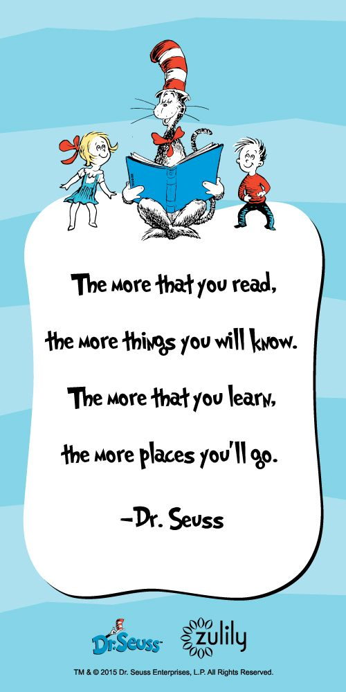 Happy Birthday Dr. Seuss! We're excited to celebrate Hats off to Reading here at zulily!