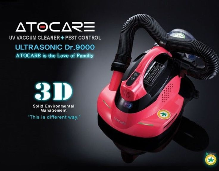 ATOCARE Ultrasonic UV Vacumn Cleaner DR 9000 UV Sterilize HEPA & 3D Ultrasonic #atocare