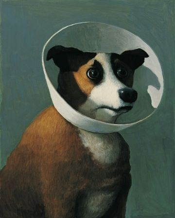 a painting by Michael Sowa. (you might recognize it from Amelie.)