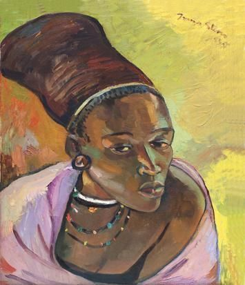 THE ZULU WOMAN By Irma Stern 1935