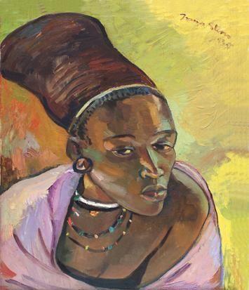 THE ZULU WOMAN By Irma Stern 1935