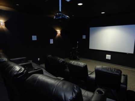 movie theater in the apt. complex