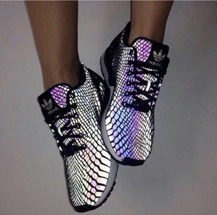 zx flux adidas reflective snake