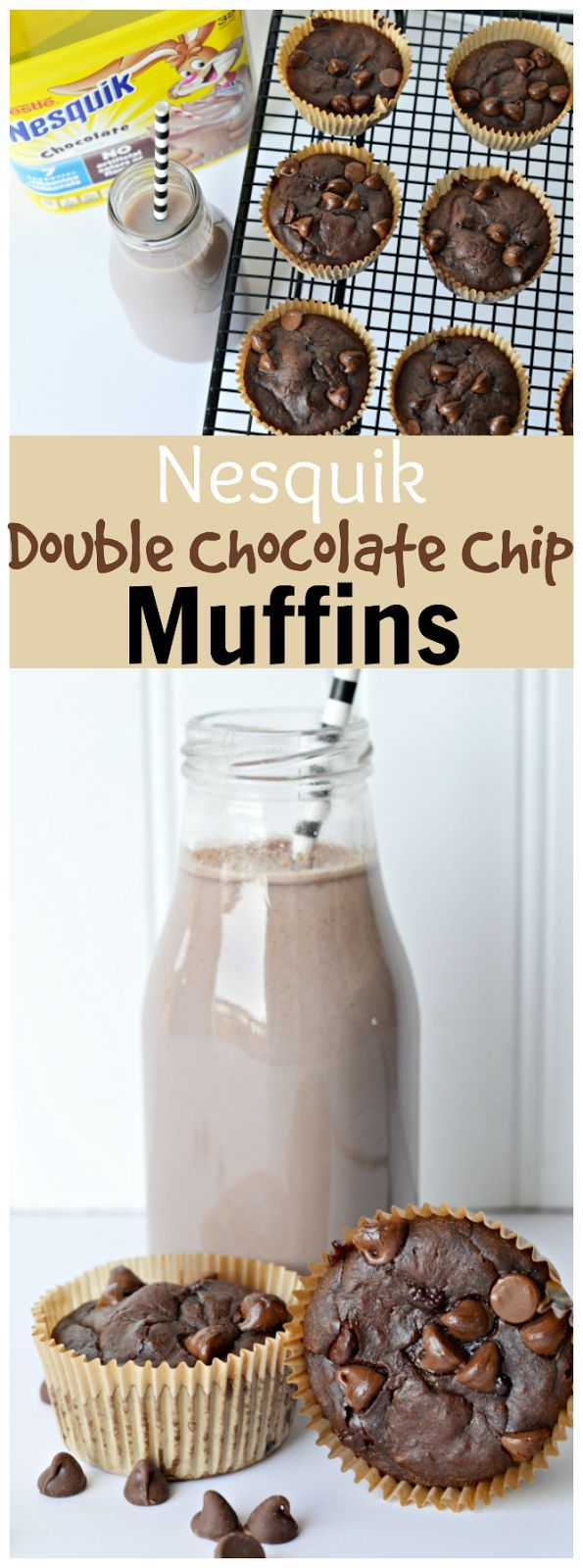 Best 25+ Double chocolate chip muffins ideas on Pinterest | Double ...