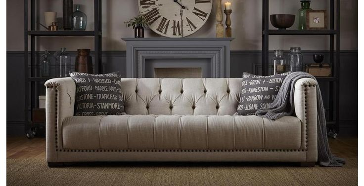 Chesterfield sofa stoff  Trafalgar Large Sofa Trafalgar | DFS | Chairs | Pinterest | Large ...