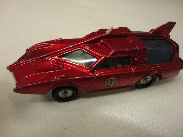 DINKY CAPTAIN SCARLET PATROL CAR DIE-CAST 1967