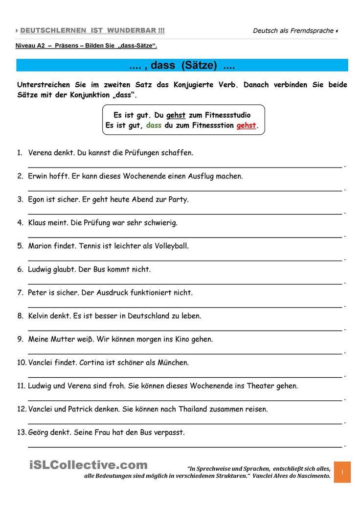 334 best Deutsche Grammatik images on Pinterest   German grammar ...