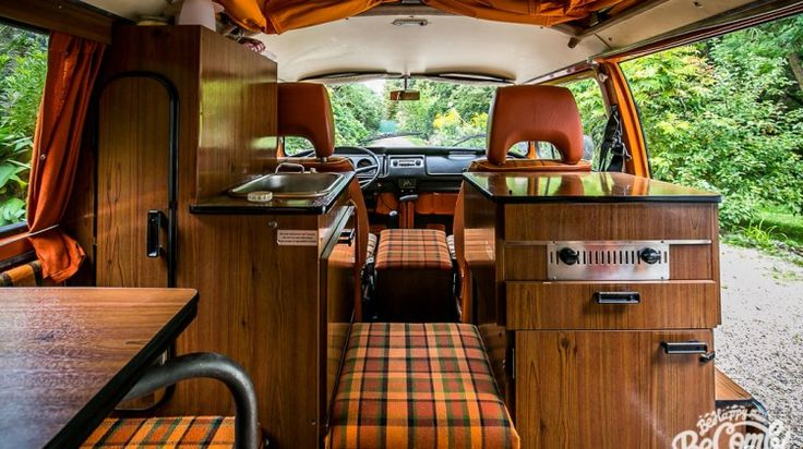 1000 id es sur le th me int rieur camping car sur for Interieur westfalia t3