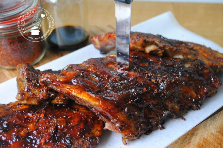 Indo slowcooked ribs spareribs