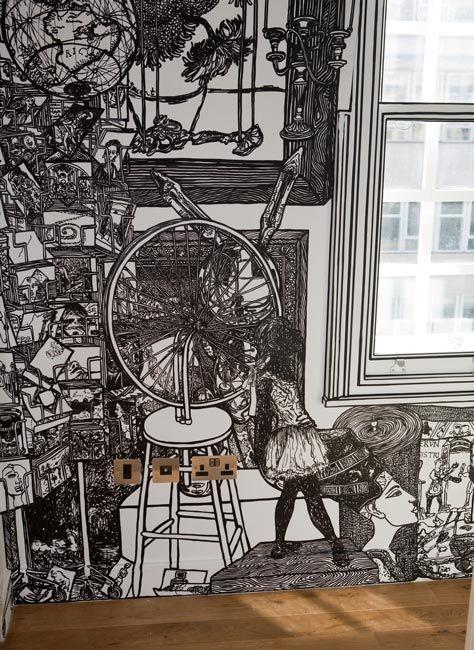 Charlotte Mann's Expansively Detailed Marker Murals