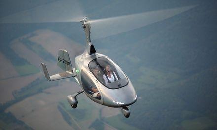 """association """"France ULM"""" pour promouvoir l'activité ULM à Esbly : Baptême de l'air en gyrocoptère"""