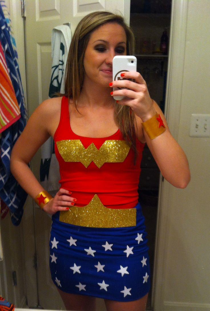 Female wonder woman costume-3749