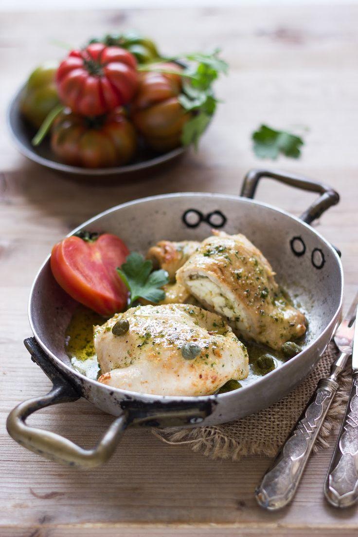 στήθη κοτόπουλου με φέτα και ρίγανη | MIEL & ΤΥΡΙ