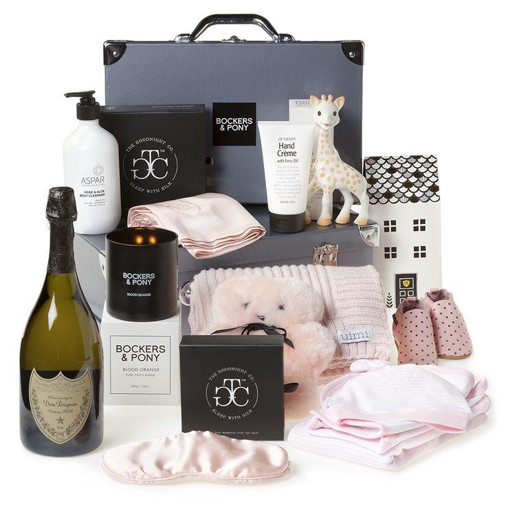 Lap of Luxury Baby Girl Hamper | Luxury Baby Gift Hampers | Bockers and Pony