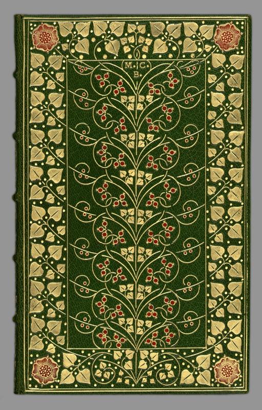 In Memoriam by Tennyson (Douglas Cockerell binder, E. Moxon printer);
