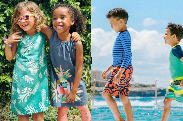 Tea Collection summer clothes go on sale, parents rejoice! | Cool Mom Picks http://coolmompicks.com/blog/2017/06/30/tea-collection-summer-sale-17/