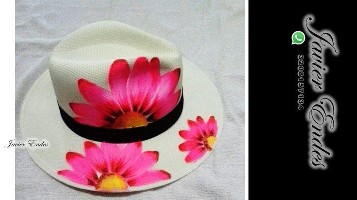 #sombrerospintadosamano, #sombreros pintados # sombreros para mujer